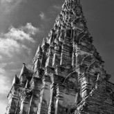 Towering on, Ayutthaya, Thailand