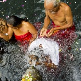 Wash my sin away, Pura Tirta Empul, Bali, Indonesia